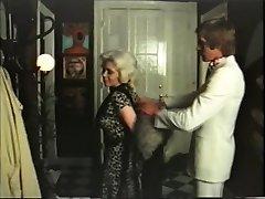 Blonde cougar has intercourse with gigolo - vintage