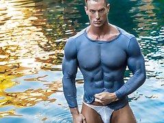 Bodybuilder/Muscle Model Trevor Adams