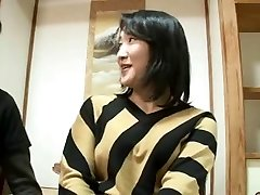 44yr old Japanese Mummy Sprays and Creampied (Uncensored)