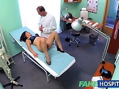 FakeHospital Handsome vietnamese patient gives doctor lovemaking