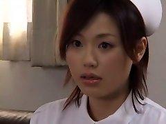 Nasty Asian whore Yui Matsuno in Incredible Medical, Close-up JAV movie
