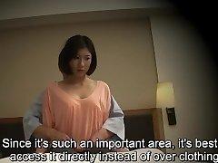 Subtitled Chinese hotel rubdown oral sex nanpa in HD