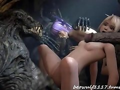 3D Duivel neuken remix: Cradit Beowolf1117