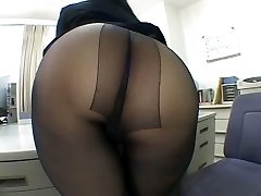 One of the hottest panty hose idolize scenes EVER!
