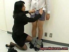 Natsumi kitahara butt licking some guy part1