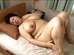 Japan stor vakker kvinne Mamma