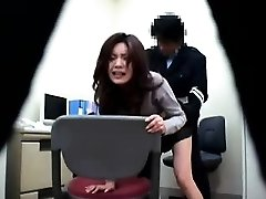 Japanese police station antics where cops get to pound their su