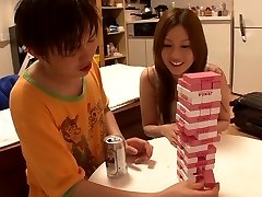Horny Japanese whore Yui Tatsumi in Incredible skinny, small udders JAV movie