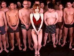 Yuria Satomi in Dream Woman 91 part 2.Trio