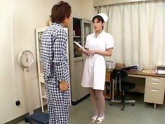 Perfect Asian Nurse Fellatio CIM