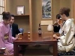 Milf in warms, Mio Okazaki, loves a wild fuck