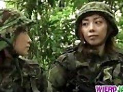 Asian in hardcore restrain bondage session