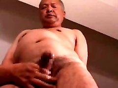 Japanese mature man
