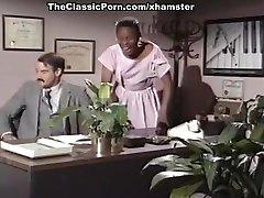 Mauvais DeNoir, Megan Leigh, Mike Horner in interracial fucky-fucky