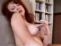 Redheaded Milf In Retro Lingerie