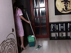 Fucking hot housemaid homemade video