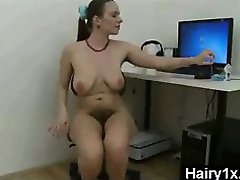 Arrogant Furious Petite Hairy Gal Screwed