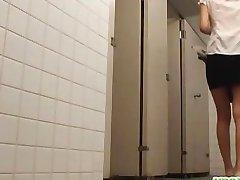 Masturbation in the girls toilet