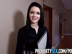 PropertySex - Bad real estate agent fucks annoyed manager to keep her job