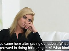 FemaleAgent Agent loves sexy hot blonde