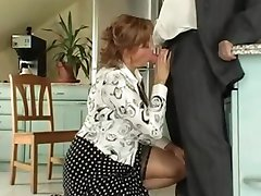 Busty Mummy gets it in her arse