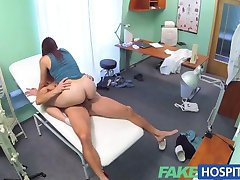 FakeHospital Horny sexy slim patient