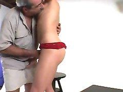Hairy Daddy Fucks His Model - Str8
