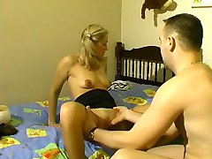 Cute blonde gets fisted - Telsev