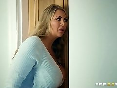Brazzers - Mom and stepdaughter and one lucky cock
