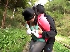 Boobs Milf Play Outdoor With not her sonnie Vol.2