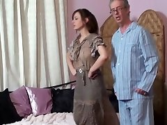Mom spanks Daughter and Daddy