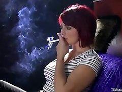 Mind-blowing smoking model