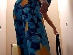 Old BBW-Granny takes Cock on Toilette 2