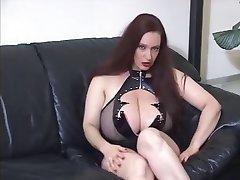 Goth huge boobs JOI