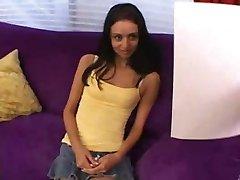 Shy Marissa 's first Casting...F70