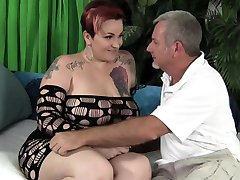 MILF BBW Selenda White is penetrated