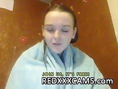 Cute teen in webcam - Episode 129