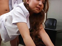 Japanese Horny Nurse With Puffy Nipples