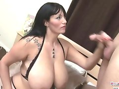 Simone Titty Fucks And Rides Merlins Wand