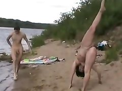 Nude Beach - Gymnast - Maximum Exposure