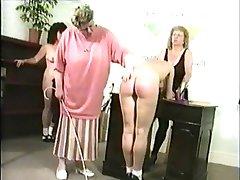 Schoolgirls spankings