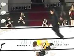 Japanese Wrestling Show With Fisting