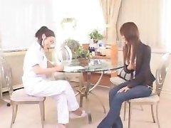 Japanese Lesbian Massage pt1