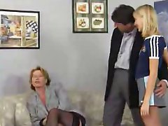 Mature and Teen In Hard Orgy Party by TROC