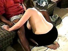 Busty redhead wife goes black 1