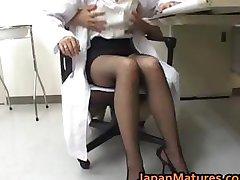 Amazing nurse is a hot mature gal part5