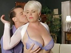 Big titted Missy Monroe gets her holes stuffed