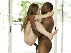 BLACKED Tiny Young Girl Skye West First Interracial