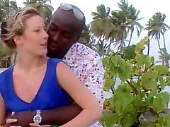 Czech wife on vacation in Jamaica