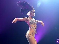 Burlesk Striptease